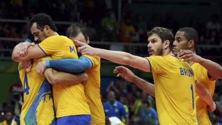 Il Brasile festeggia