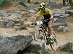 La  svedese Jenny Rissveds, 22 anni, in azione a Rio. Ap