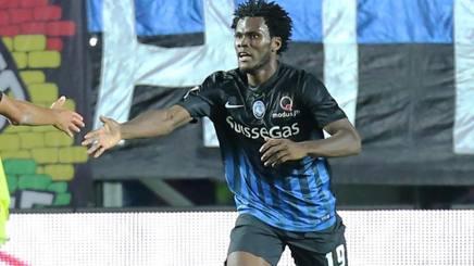 L'ivoriano dell'Atalanta Franck Kessi�, 19 anni. LaPresse