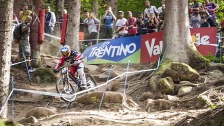 � la seconda volta che la Val di Sole ospita i Mondiali di mountain bike