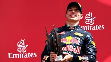 Max Verstappen, 18 anni, nel Mondiale � sesto. Getty