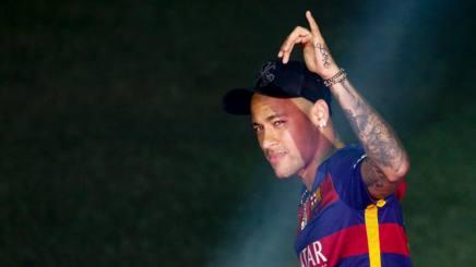 Neymar, fresco olimpionico con il Brasile a Rio. Afp