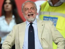 Aurelio De Laurentiis, presidente del Napoli. Getty