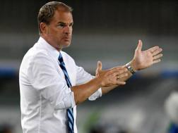 Frank De Boer, 46 anni, al debutto in A con l'Inter ha perso 2-0 col Chievo. Getty