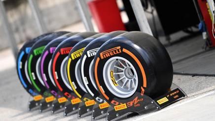 Le Pirelli per la Formula1