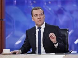 Il presidente della Federazione russa Dmitrij Anatol'evič Medvedev. Reuters