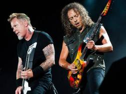 James Hetfield  e Kirk Hammett