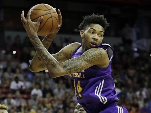 Brandon Ingram dei Los Angeles Lakers. Ap