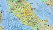 Le regioni del Centro e Sud Italia colpite dal terremoto