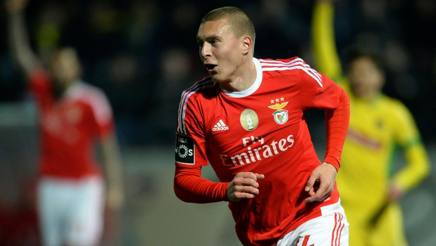Victor Lindelof, punto di forza del Benfica: il Napoli lo aveva trattato in estate. Afp
