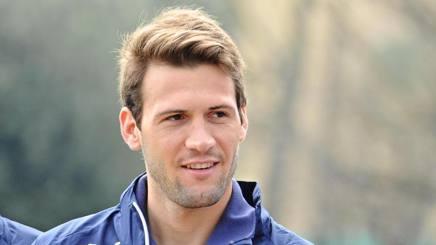 Franco Dami�n V�zquez, 27 anni, centrocampista del Siviglia. Ansa