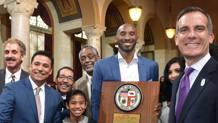 Kobe Bryant nel comune di Los Angeles. Ap