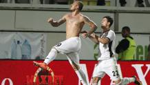 Denis Alibec, 25 anni, in gol contro il West Ham. Reuters