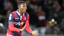 Amadou Diawara, 19 anni, centrocampista del Napoli. Ansa