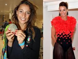 Elisa Di Francisca, 33 anni, argento nel fioretto a Rio 2016.