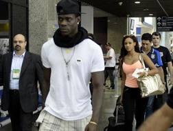 Mario Balotelli, 26 anni. Afp