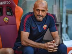 Il tecnico della Roma Luciano Spalletti. Ansa