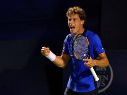 Pablo Carreno Busta, 25 anni. Afp