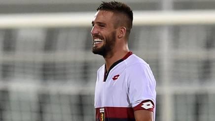 Leonardo Pavoletti, attaccante del Genoa. Getty