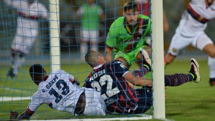Marco Festa, 24 anni, al debutto in Serie A. Ansa