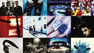 Le copertine dei dischi  degli U2. Arch. Gazzetta