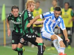 Sassuolo-Pescara � stata ribaltata a tavolino: 3-0 per la squadra di Oddo. LaPresse