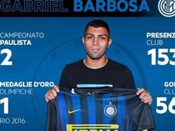 Gabriel Barbosa detto Gabigol, 20 anni compiuti oggi