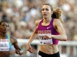 Tatyana Firova (Rus), argento olimpico a Pechino 2008 nella staffetta 4x400 REUTERS