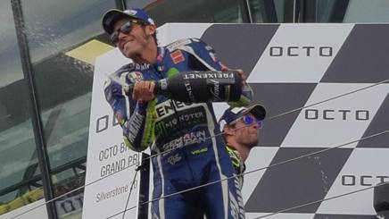 """MotoGP, Rossi: """"Non ho mai mollato. Ma la gomma scivolava"""""""