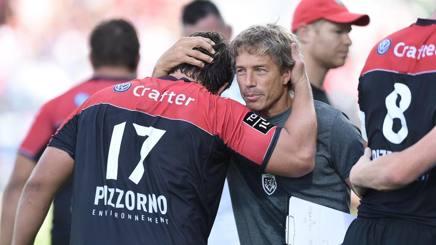 Diego Dominguez a fine match. Afp