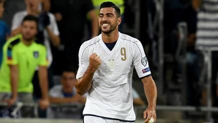 Graziano Pell�, 31 anni, 9 gol in Nazionale. Getty