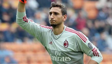 Gigio Donnarumma, 17 anni, � stato uno degli ultimi calciatori di Serie A ad aver giocato il Memorial Scirea. Ansa
