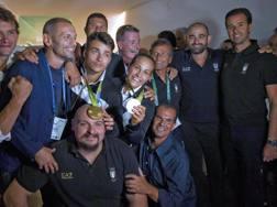 Alcun dei medagliati di Rio. Ansa