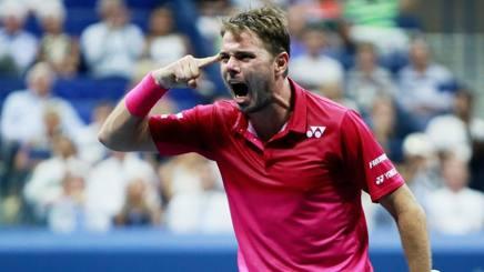 Wawrinka batte Nishikori e conquista così la sua terza finale Slam, la prima a