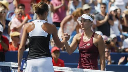 Tennis, US Open, finale Kerber-Pliskova alle 22 italiane