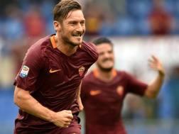 Francesco Totti, 40 anni il 27 settembre. Afp