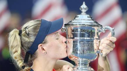 """Tennis, Us Open, Angelique in Paradiso: """"L'anno più bello della mia vita"""""""