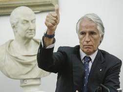 Giovanni Malagò. Ansa