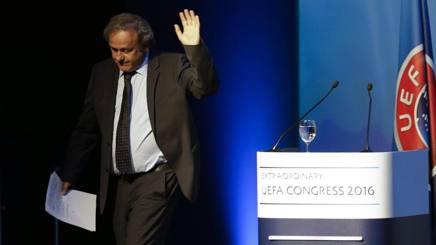 """Uefa, il saluto di Platini: """"Andate avanti senza di me. Ma ho la coscienza pulita"""""""
