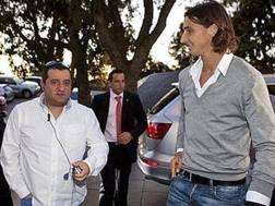 Mino Raiola con Zlatan Ibrahimovic