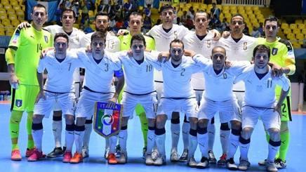 Calcio a 5, Italia-Guatemala 5-1. Tre gol di Fortino, due di Leggiero