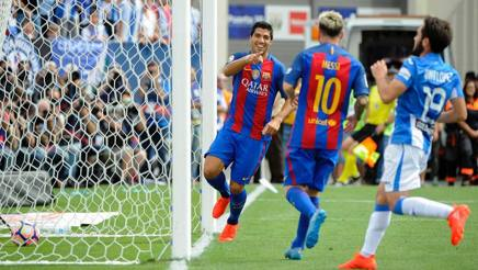 Barcellona, riscatto in Liga con la MSN: Messi, Neymar e Suarez in gol