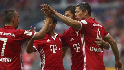 Bayern-Ingolstadt 3-1, Ancelotti trema e fa il record: sei vittorie su sei