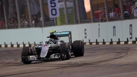 Nicio Rosberg. LaPresse