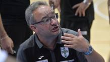 Stefano Sacripanti, coach della Sidigas Scandone Avellino CIAMILLO E CASTORIA