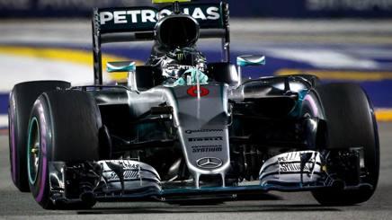 Nico Rosberg, ottava vittoria del 2016. Epa