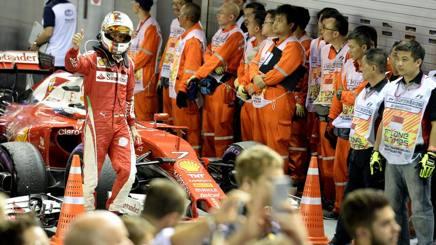 Vettel ha rimontato dal 22� al quinto posto. Colombo
