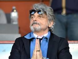 Massimo Ferrero, presidente della Sampdoria. Getty