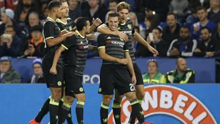 Leicester-Chelsea 2-4. Conte passa agli ottavi di Coppa di Lega