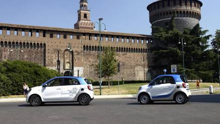 Car2go raddoppia, arrivano le Smart Forfour